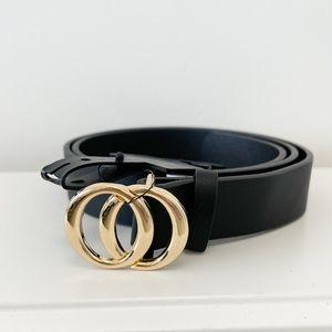 NWT Gold Buckle Belt